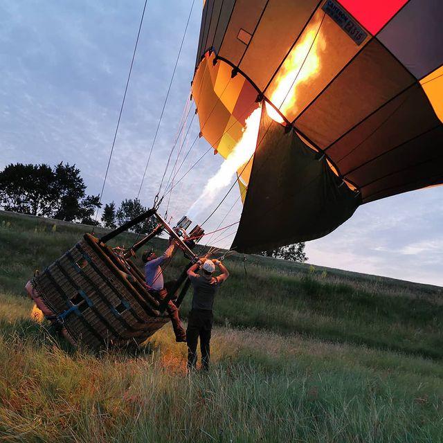 tour montgolfière chateau de la loire