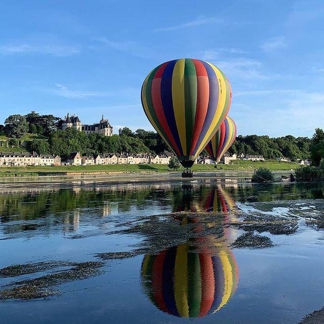 balade en montgolfière chateau de la loire