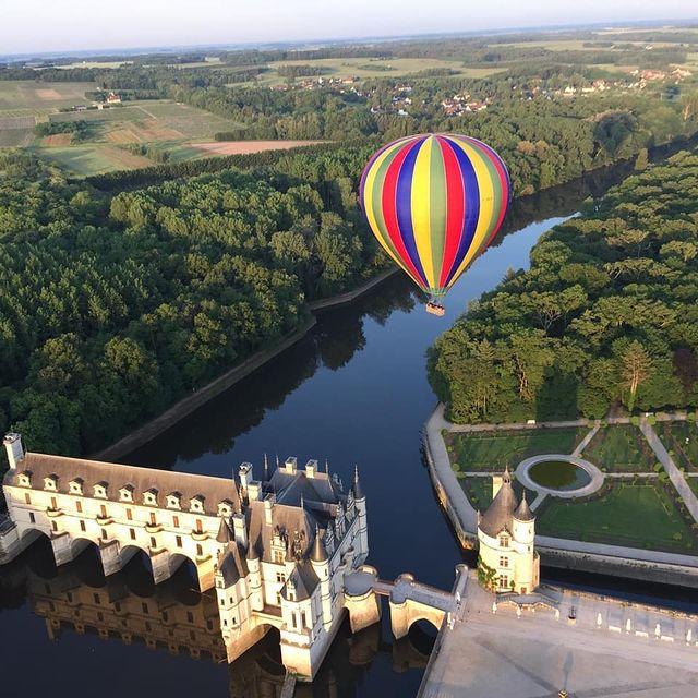 vol en montgolfière saumur
