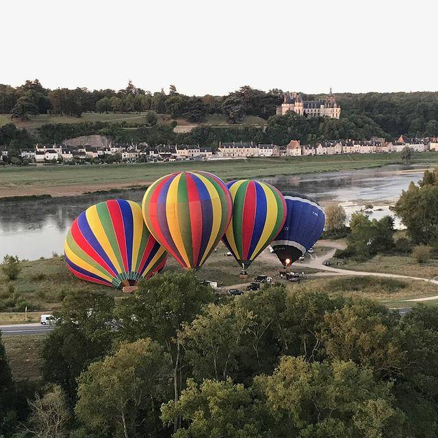 hot air balloon ride france