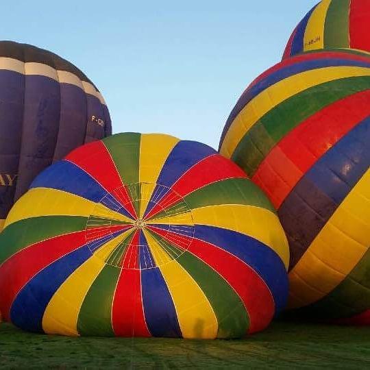 tour en montgolfière chateaux de la loire