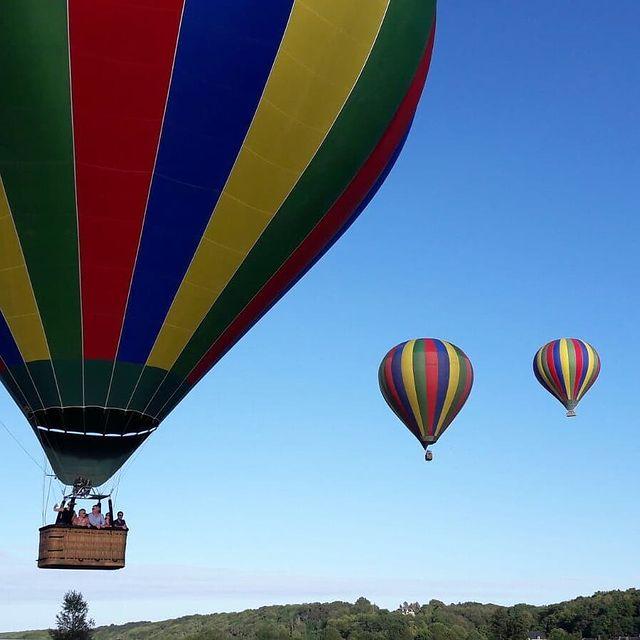 vol en montgolfière chateau de la loire