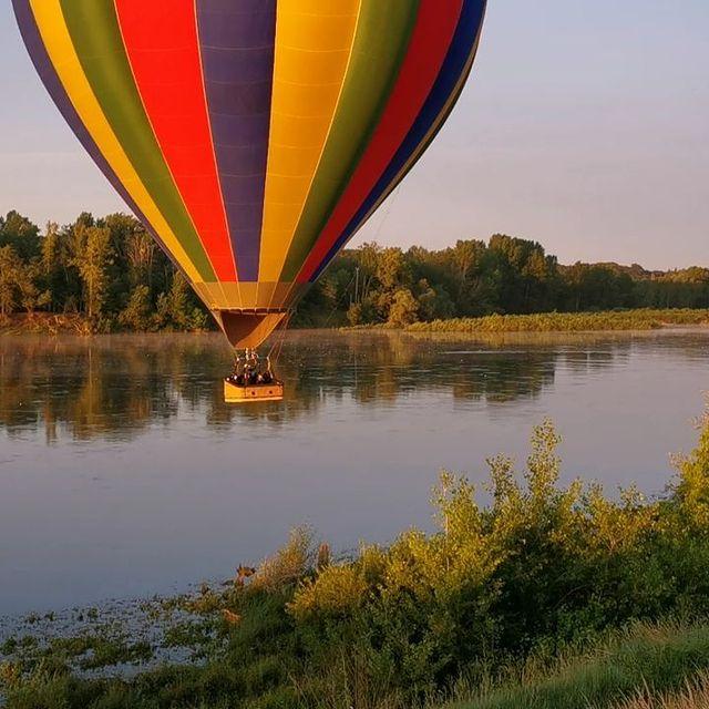 vol montgolfiere chateau loire
