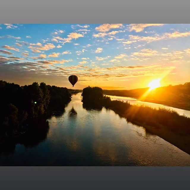 hot air balloon rides in loire valley france