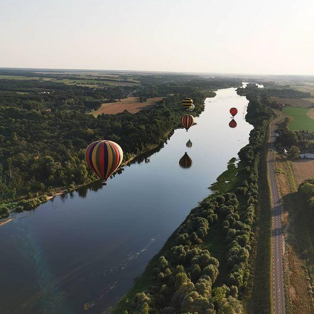 Survol en Val de Loire