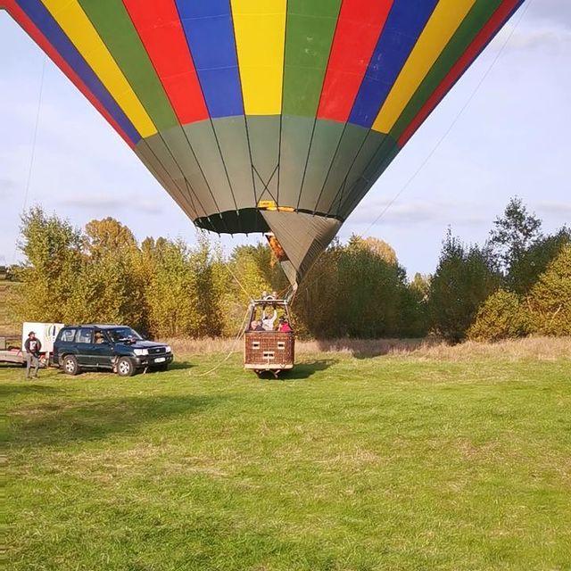 vol en montgolfiere val de loire