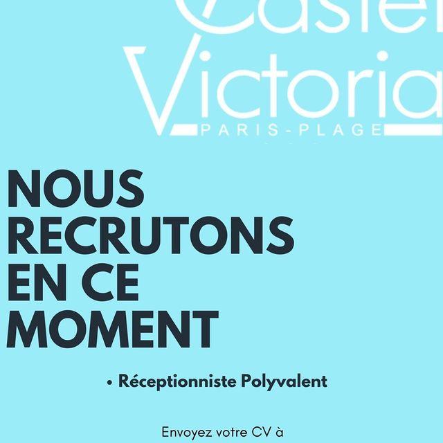 💥Le Castel victoria recrute ! A vos Cvs !💥