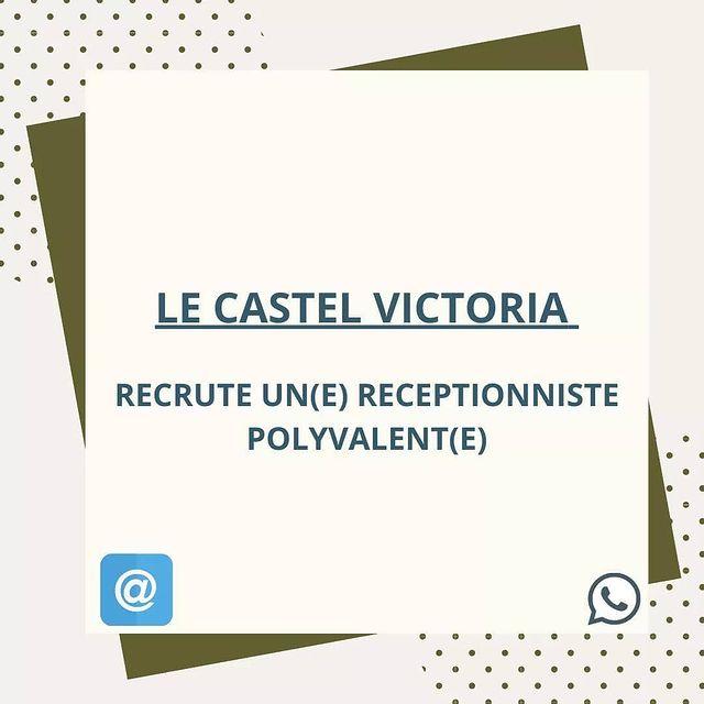 Nous recrutons !  - merci d'adresser votre CV par adresse mail ➡️ direction@castel-victoria.com  ✉️📚✏️💼📎🗂️