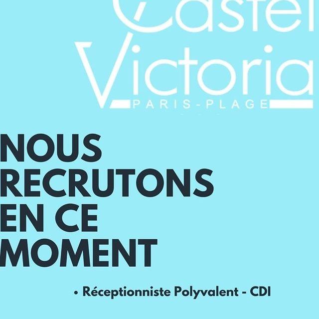 💥L'équipe du Castel Victoria recrute ! Envoyez vos CV à info@castel-victoria.com ou direction@castel-victoria.com!💥