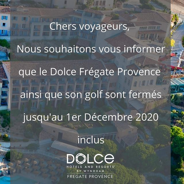 #dolce #dolcefregate #dolcefregateprovence #covid #var #provence