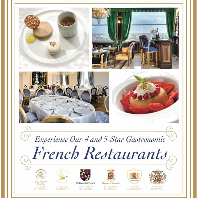 Have you had the privilege of dining at Les Saules Restaurant, located at Domaine de Vaugouard's Golf Resort? What about the other 4- & 5-Star Younan Collection Gastronomic French Restaurants located throughout the Loire Valley?