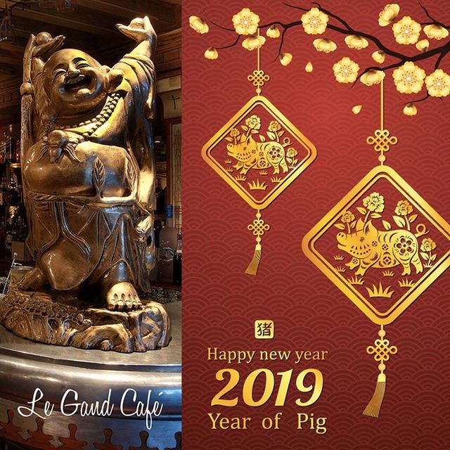 Bonne Année Chinoise 🇨🇳 ! L'horoscope chinois annonce que l'année du Cochon 🐷 est un symbole de chance 🤞🏼et de prospérité 💰  Happy Chinese New Year 🇨🇳 ! The Chinese horoscope announces the year of the Pig 🐷 which is a symbol of luck🤞🏼 and prosperity 💰  春节快乐 🇨🇳 !  #legrandcafecourchevel #chinesenewyear #courchevel #thisiscourchevel #bonneanneechinoise #restaurantcourchevel #goingoutcourchevel #春节快乐 #luck #yearofthepig