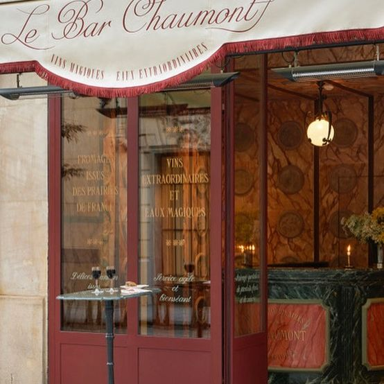 Your new meeting place, the wine bar @lebarchaumont
