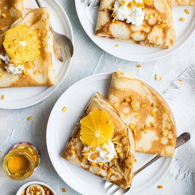 Today it's time to eat crepes ! Have a beautiful Candlemas 😋 #yummy  ​