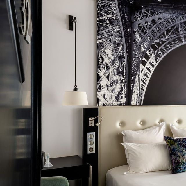 Comfortably installed at the Gustave Hotel in Paris💭