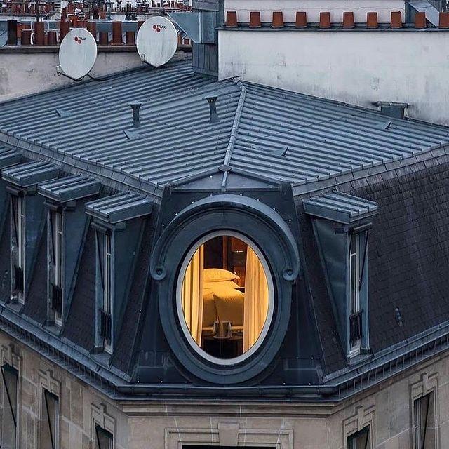 The roofs of paris, aren't they beautiful?   Happy Valentine's Day to all!  ___________________________________  #travel #Parisianlover #hotelover #Parissecret #Haussmann #hotellife #Instatravel #Montmartre #Operagarnier #roomwithaview #lemarais # #interiordesign
