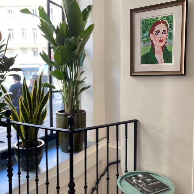 Hotel Petit Lafayette's touch 💌 ___________________________________ 📸@powaldorf   #travel #Parisianlover #hotelover #Parissecret #Haussmann #hotellife #Instatravel #Montmartre #Operagarnier #roomwithaview #lemarais # #interiordesign