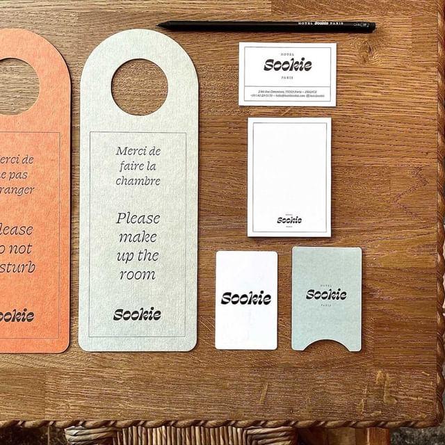 La papeterie du Sookie 😍 - The Sookie's paper stationery  #sookiesookie #hotelsookie #parisianhotel #papeterie #lemarais #details #designinspiration