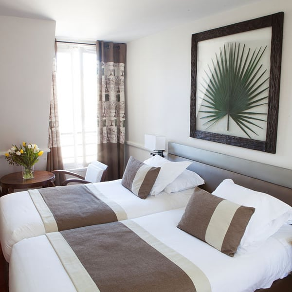 All our rooms have free wifi access, individual air-conditioning, a flat screen TV, a safe, welcome products...💯