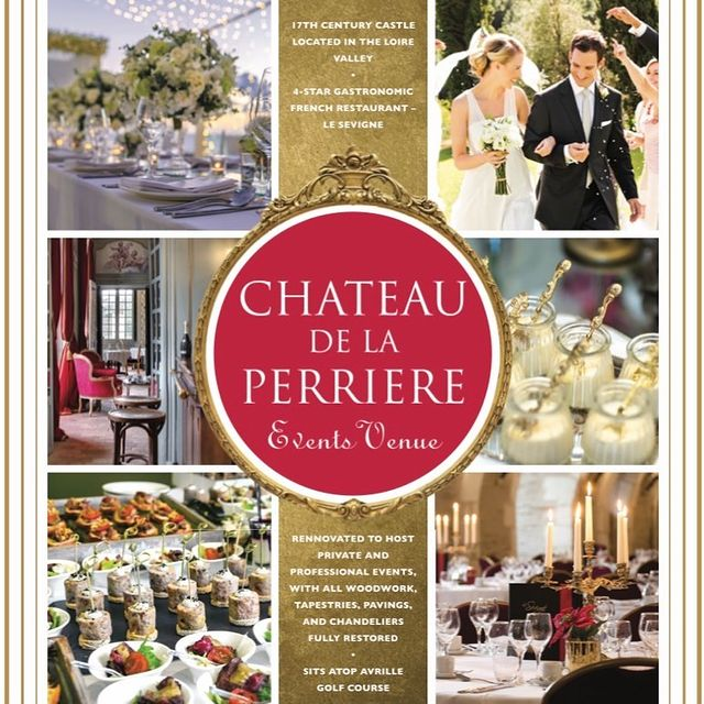 A look back at some of our best memories created at Château de la Perrière - a 17th Century French Castle & Events Venue. ✨🏰