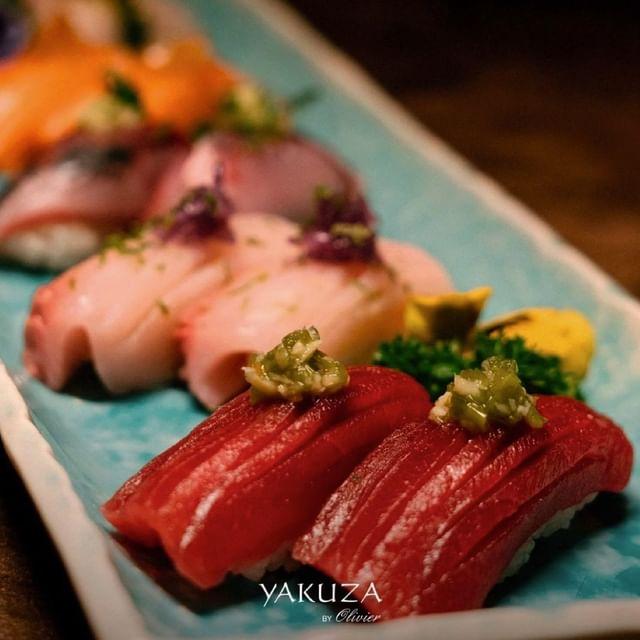 Pronto para uma seleção de Nigiris? É otimo para partilhar! @yakuza_byolivier   Façanos uma visita, estamos no @lemonumentalpalace no centro do Porto.  Ready for a selection of Nigiris? It's great to share! @yakuza_byolivier   Visit us, we are at @lemonumentalpalace in the center of Porto.  Reservas / Bookings :+351 924 180 702  #yakuzabyOlivier #yakuzasociety #sushi #sushilovers #maisonalbarhotels #fivestar #porto #hotel #travel #portugal #hotels #hotelsandresorts