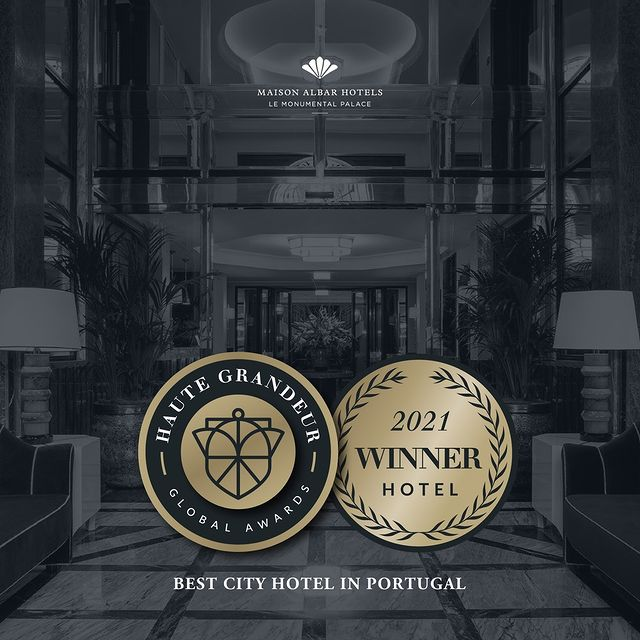 It's with great excitement we announce that Maison Albar Hotels Le Monumental Palace has won the Excellence Award for Best City Hotel in Portugal.  Thank you all for the recognition!  #maisonalbarhotels #fivestar #porto #hotel #travel #portugal #monumental #casuallyluxurious #bestintravel #weekend #lifestyle #luxel #travelblogger #love #hotelife #beautifuldestinations #lemonumentalpalace #oitoemponto