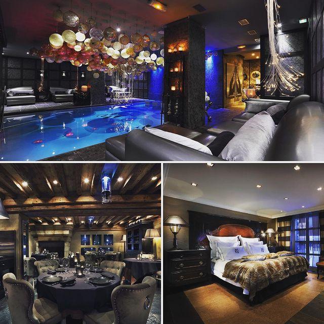 ✨ Le Saint Roch est un écrin somptueux pour ceux qui souhaitent se ressourcer. L'hôtel associe modernité et convivialité, luxe et décontraction, le tout dans un environnement privilégié où règne l'esprit montagne. Un seul objectif : ériger l'acte de recevoir au rang d'art. L'hôtel compte 14 suites, 5 chambres et 2 appartements : Le Love et Le Roch.  @saint_roch_courchevel   ☎ +33 (0)4 79 08 02 66  🌐 www.lesaintroch.com  ✉ reservation@lesaintroch.com  #lesaintroch #lesaintrochcourchevel #saintroch #maisontournier #luxury #exclusive #luxurylife #beautifuldecor #courchevel #courchevel1850 #hotelmontagne #travel #frenchalps #experiencesaintroch #winter #snowlife #cozyhome #mountainslife #luxuryhotel #hotelier #interiordesign #resort #hoteldesign #design #luxurytravel #magicwinter #winter2021 #beautifuldestinations #beautifulplace #beautifulcourchevel