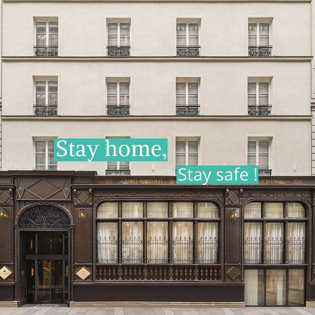 · Stay home, Stay safe ·   Suite aux annonces gouvernementales, notre Maison ferme ses portes, le temps que la situation s'améliore. Nous espérons vous retrouver très vite pour vous faire vivre à nouveau de belles expériences au sein de notre Maison, en toute sérénité. - #paris #maisonalbarhotels #casuallyluxurious #vendome #hotels #paris9 #dreaminparis #besthotelsparis #boutiquehotel #luxuryhotel #hoteldesign #luxuryinteriors #contemporary