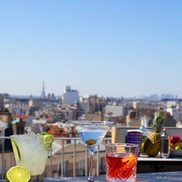 From Paris to the sky 🌆@mk2hotelparadiso