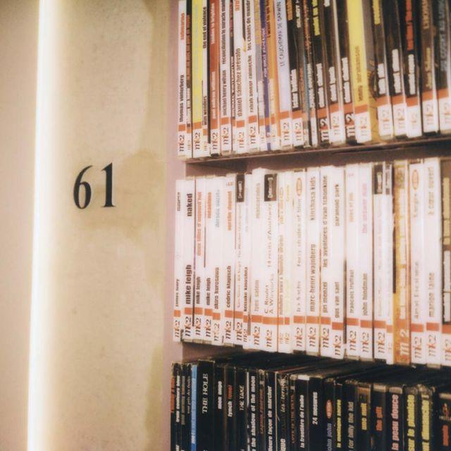 💿 Dans les couloirs de l'hôtel, on déambule dans une DVDthèque de plus de 2000 films, dont des films de la collection inédite de @criterioncollection. On y tombe nez-à-nez avec des trésors du cinéma mondial et on retrouve le plaisir de choisir son DVD pour une séance directement dans sa chambre. - 💿 In the hotel's corridors, you can wander through a DVD library of more than 2000 films, including films from @criterioncollection. You will come face to face with treasures of world cinema and you will find the pleasure of choosing your DVD for a screening directly in your room. #mk2HotelParadiso #CinemaHotel #HotelParadiso #DVDCollection #CriterionCollection  @mk2films @criterioncollection #mk2HotelParadiso #CinemaHotel #HotelParadiso #DVDCollection #CriterionCollection   📸 @lara_micheli