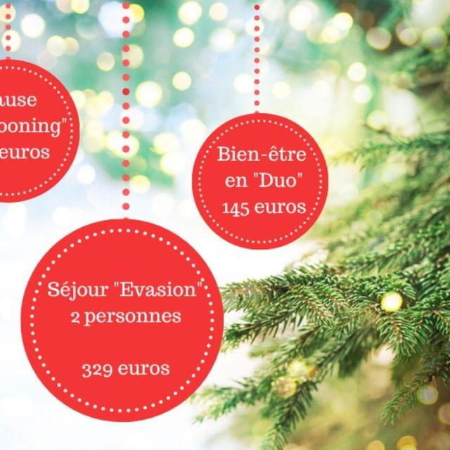 J-28 avant Noël !  Laissez-vous emporter pour des fêtes de fin d'année tout en douceur ! Le temps d'un après-midi, d'une nuit.... Avec ces quelques idées de bon cadeau à faire vos proches ou à vous même !  Pour tous renseignements complémentaires ou réservation, contactez nous au 02 28 09 27 30 ou retrouvez nous sur www.residspa.com ou sur https://residspa.bonkdo.com