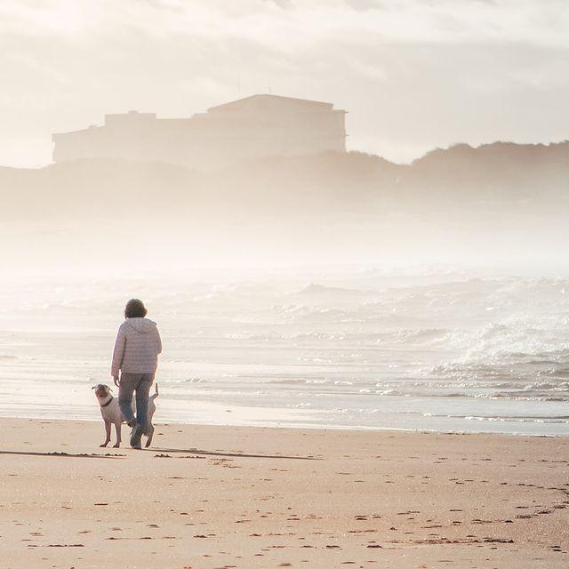 Há melhor forma de começar o dia do que a carregar baterias à beira-mar? 😊