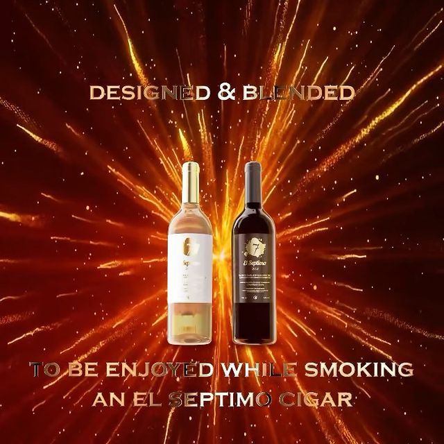 We've created something special for El Septimo's retailers, partners and fans, to be enjoyed & paired with your El Septimo Cigar. 💨 Introducing the first vintages of El Septimo's newest Fine Wine Collection, including our 2018 Bordeaux Red & BLANC Wine from the Saint-Émilion Grand Cru Winery, @ChateauZaya. 🍷 Now seriously, name another premium cigar brand that creates this kind of stuff for you all… 🥊